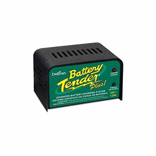 4. Deltran Battery Tender (021-0128) 1.25 Amp Battery Charger