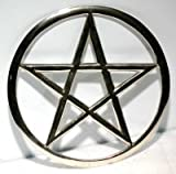 Large Cut-Out Pentagram altar tile by AzureGreen