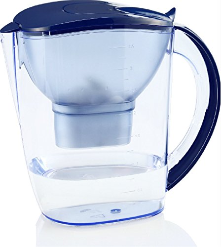 EHM ULTRA Premium Alkaline Water Pitcher - 3.5L Pure Healthy Water Ionizer, BPA FREE W/ Activated Carbon Filter - Healthy, Clean & Toxin-Free Mineralized Alkaline Water In Minutes -Up to PH 9.5- 2019