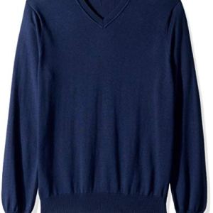 Perry Ellis Men's Classic Solid V-Neck Sweater