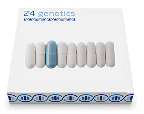 24Genetics PHARMACOGENOMICS: DNA Home Test for PGx Pharmacogenomics and Personalized Medicine. Includes at-Home Swab Collection kit