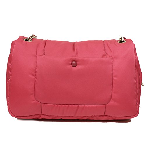 73c9170cd9 Prada BR5024 Pink Tessuto Bomber Pattina Shoulder Bag - Fashion