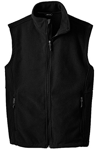 Joe's USA(tm) - Men's Soft and Cozy Fleece Vest in Men's Sizes XS-6XL