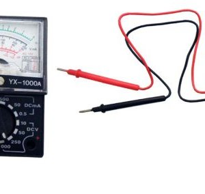 ToolUSA Pocket-size 4-function 13-range Analog Multimeter With 1.5v/9v Multi Tester – Yx-1000a: LHEN-5883