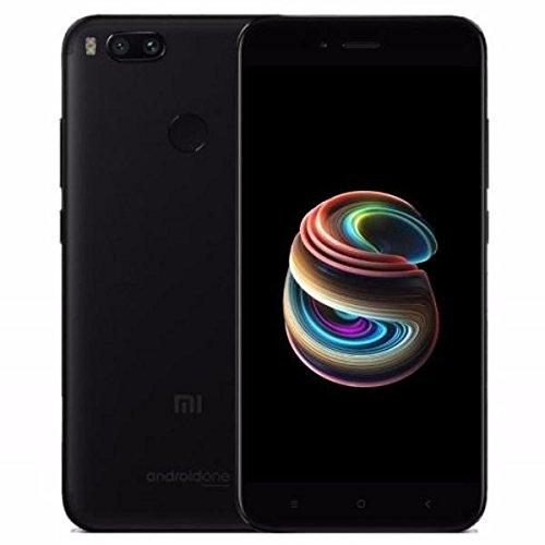 "Xiaomi MI A1 (64GB, 4GB RAM) with Android One & Dual Cameras, 5.5"" Dual SIM Unlocked, Global Version, No Warranty (Black)"