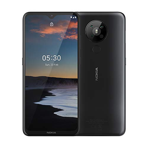 Nokia-53-Android-One-Smartphone-with-Quad-Camera-4-GB-RAM-and-64-GB-Storage-Charcoal