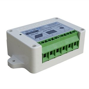 3A/10A/15A Discharging Solar Charge Controller for 12/ 24V 40/ 80Watt PWM Charging Boat