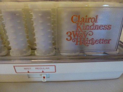 Clairol Kindness 3 Way Mist Hairsetter Dance Pageant Cheer Denmark - Model K420