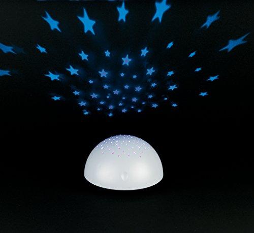 Creative Motion Proyector de Estrellas, Funciona con Pilas, Color Blanco