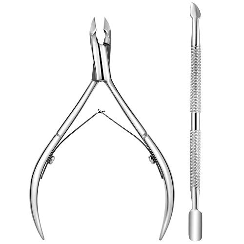 Cuticle Nipper with Pusher