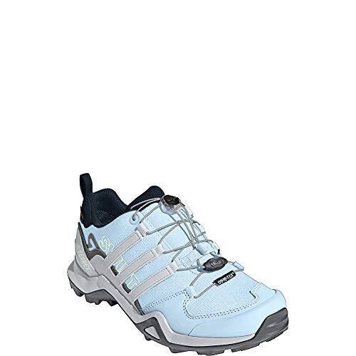 adidas Outdoor Terrex Swift R2 GTX Womens Hiking Boots, (Legend Ink, Tech Ink, & Grey One), Size 8