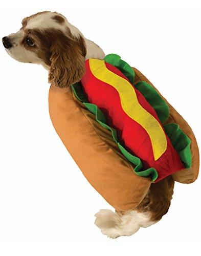 Wiener Dog Hot Dog Pet Costume