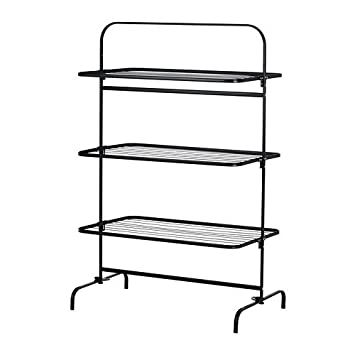 Ikea Mulig Séchoir à Linge 3 Niveaux Noir Amazonfr