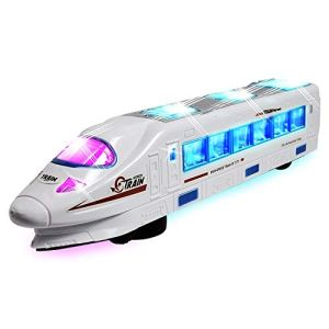 WolVol Bump & Go Electric Flash Light Train Toy with Music 419p9d1MTnL