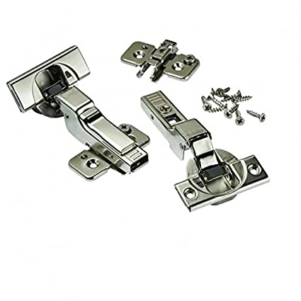 Blum Soft Close  Blumotion Clip Top Inset Hinges For Frameless Cabinets