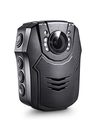 BOBLOV Body Camera 1296P 64G Body Worn Mounted Camera Lightweight Smart Fast Charging Night Vision Cam 150 Degree Angle Playback 7Hours Recording