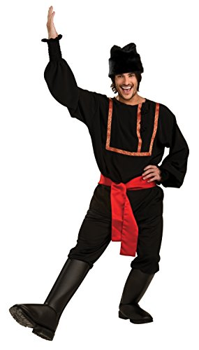 Rubie's Costume Co. Men's Black Russian Costume, As Shown, Standard