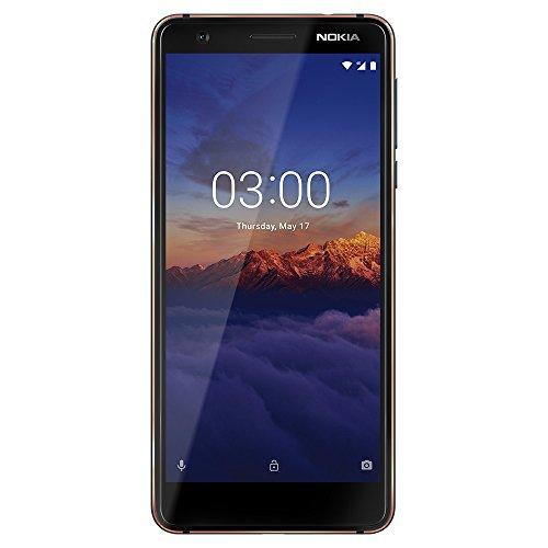 Nokia 3.1 - Android 9.0 Pie - 16 GB - Dual SIM Unlocked Smartphone (AT&T/T-Mobile/MetroPCS/Cricket/Mint) - 5.2' Screen - Blue - U.S. Warranty