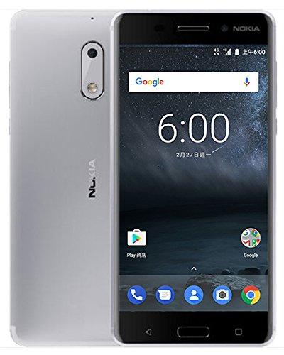 Nokia 6 TA-1003 5.5 inch Snapdragon 430 (4GB+64GB) Smartphone (Silver) - Global Version