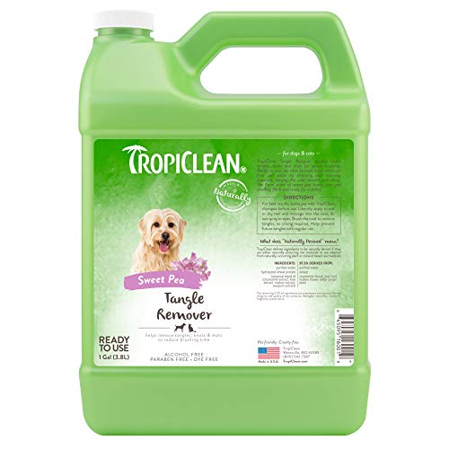 TropiClean-Tangle-Remover-Spray-for-Pets-Made-in-USA