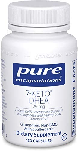 Pure Encapsulations - 7-Keto DHEA 25 mg - Unique DHEA Metabolite to Support Thermogenesis and Healthy Body Composition - 120 Capsules 3