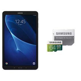 Samsung-Galaxy-Tab-A-SM-T580NZKAXAR-101-Inch-16-GB-Tablet-Black-and-Samsung-64GB-100MBs-U3-MicroSDXC-EVO-Select-Memory-Card-with-Adapter-MB-ME64GAAM