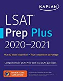 LSAT Prep Plus  2020-2021: Comprehensive LSAT prep with real LSAT questions (Kaplan Test Prep)
