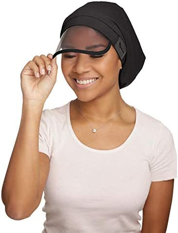 Hairbrella Women's Rain Hat, Waterproof, Sun Protection, Satin-Lined, Packable