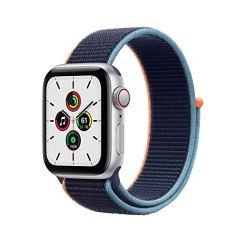 New-Apple-Watch-SE-GPS-Cellular-40mm-Silver-Aluminum-Case-with-Deep-Navy-Sport-Loop