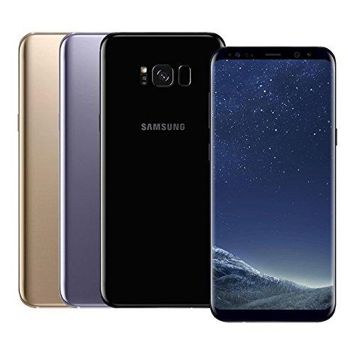Samsung Galaxy S8 Plus (S8+) (SM-G955FD) 4GB RAM / 64GB ROM 6.2-Inch 12MP 4G LTE Dual SIM FACTORY UNLOCKED – International Stock No Warranty