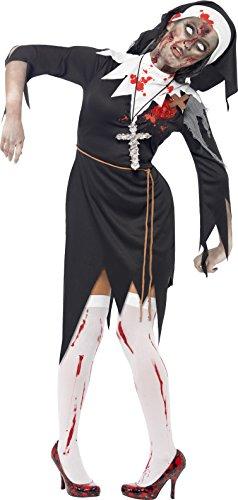 Smiffys Women's Zombie Nun Costume