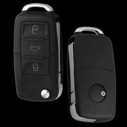 Coque-De-Cl-Tlcommande-Voiture-3-Boutons-Pour-Volkswagen-VW-Polo-Golf