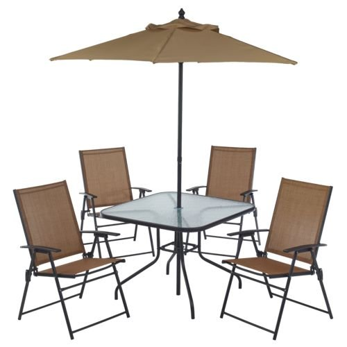 Mosaic 6-Piece Outdoor Folding Patio Set Review
