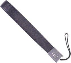 BlackBerry Leather Strap for BlackBerry Bold 9000 - Blue - Bulk Packaging