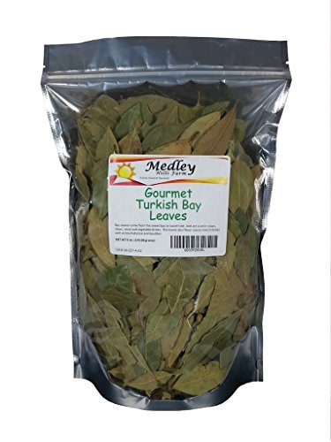 Medley Hills Farm Gourmet Turkish Bay Leaves Whole 6 oz