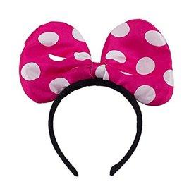 LED Light Up Jumbo Polka Dot Bow Headband