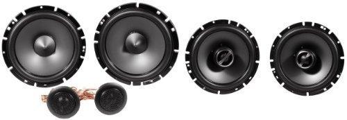 """5. Package: Pair Alpine Sps-610c 6.5"""" 2 Way Pair of Component Car Speakers + Alpine Sps-610 6.5"""" 2 Way Pair of Coaxial Car Speakers"""