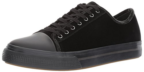 41Ad8lVGEnL Low-top sneaker in classic lace-up design with clean upper featuring cap toe Metallic grommet eyelets