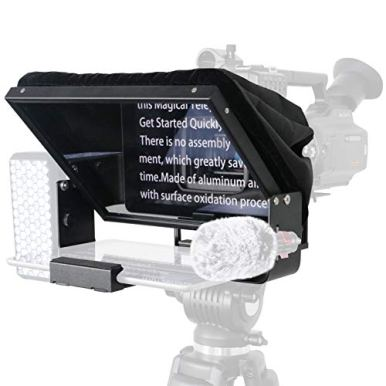 Teleprompters-for-Smart-Phones-and-Tablets-Making-Video-Programs-Live-Streaming-Professional-Tool-to-Prompt-The-Bloggers-Lines-Equipped-with-Custom-Suitcase