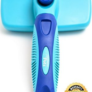 CleanHouse Pets Cat and Dog Hair Brush - No More Shedding | Easy Self Cleaning Button! All Pet Sizes, Small to Large. This Pro Grooming Pet Slicker Brush Removes All Hair, Tangles, Cleans and Desheds 6