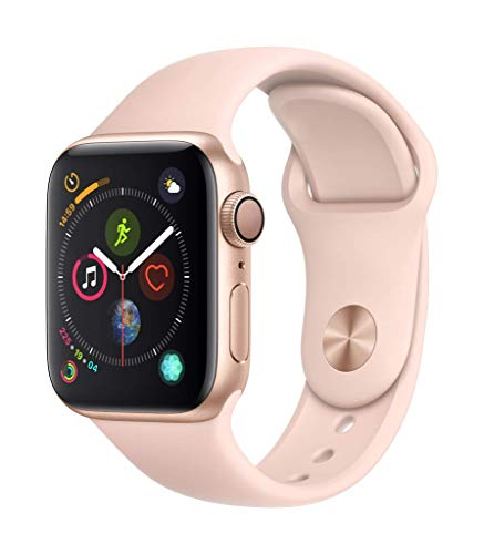 Apple Watch Series 4 (GPS, 40mm) - Gold Aluminium Case with Pink Sand Sport Band