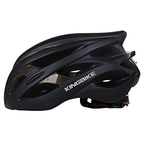 Kingbike Adult Bike Bicycle Helmet Road Mountain With Helmet Rain