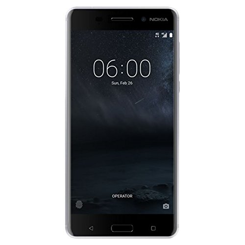 Nokia 6 - 32 GB - Unlocked (AT&T/T-Mobile) - Silver