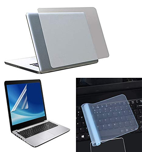 Imagination Era 15.6 Accessories 3in1 Kit Laptop Lamination Screen Guard Silicone Keyboard Protector for All Models Fintting 15.6 inch Dimensions (WXH) 15.6 X 10 inches 191