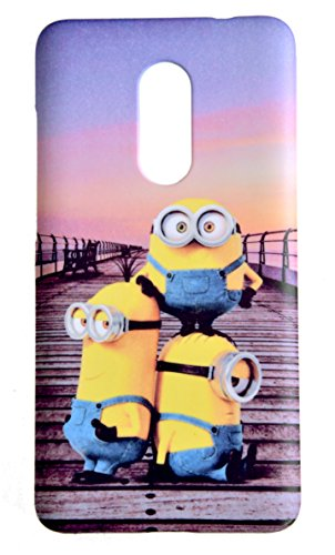 Lakshya Creative Minions Gang Cartoon Animited Xiaomi Redmi Note 4 Mobile Back Cover 113
