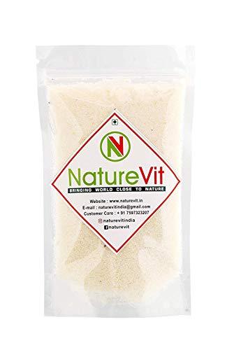 NatureVit Desiccated Coconut, 400gm |100% Pure | Nariyal Burada