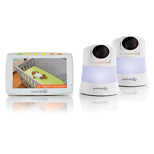 Summer Infant Wide View 2.0 Duo Baby Video Monitor