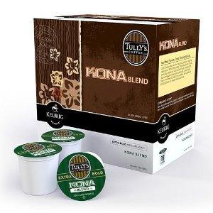 Tully's Coffee Kona Blend K-Cup Coffee