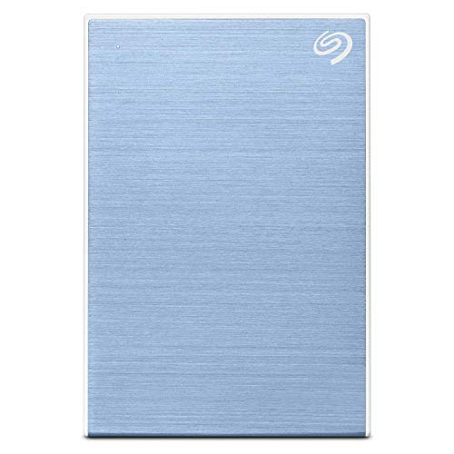 Seagate Backup Plus Slim 2 TB External Hard Drive Portable HDD – Light Blue USB 3.0 for PC Laptop and Mac, 1 Year Mylio Create, 2 Months Adobe CC Photography (STHN2000402) 25