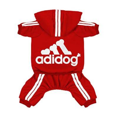 Scheppend-Original-Adidog-Pet-Clothes-for-Dog-Cat-Puppy-Hoodies-Coat-Doggie-Winter-Sweatshirt-Warm-Sweater-Dog-Outfits-Red-XX-Large